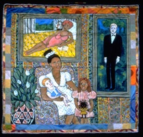 a biography of faith ringold In 1963, faith ringgold was 32, the mother of two daughters, and on the hunt for a gallery to show her work to say that it was difficult for black artists to find.