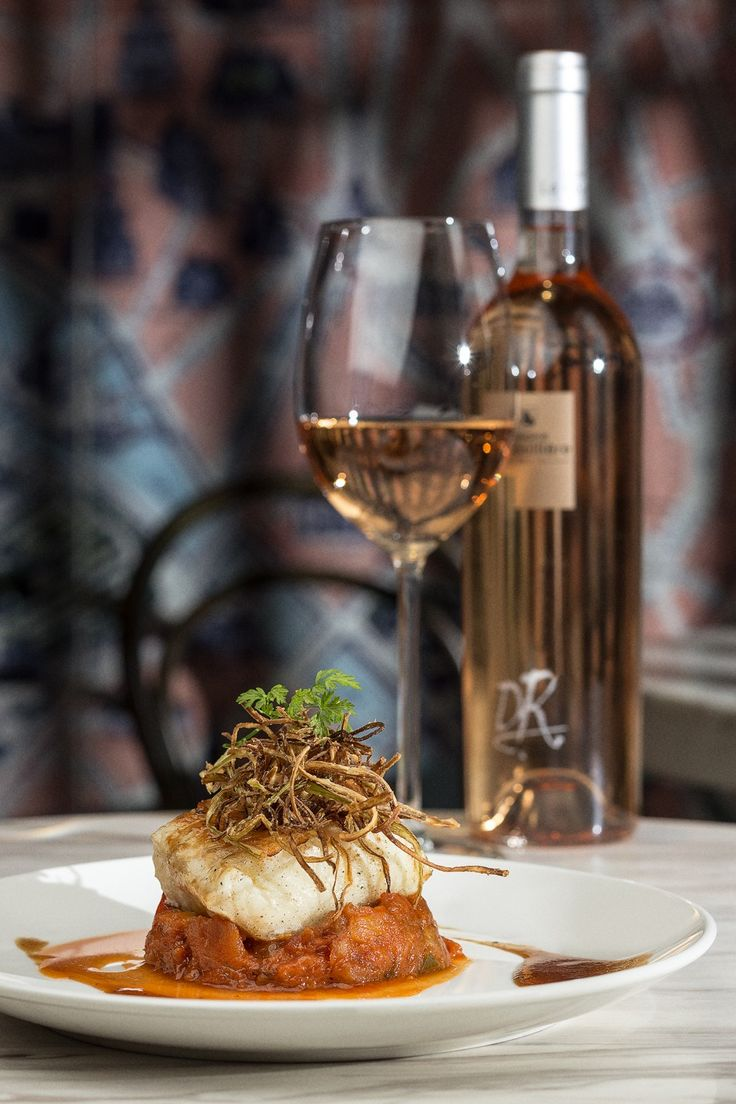 """PAN-FRIED ATLANTIC COD FILET WITH RATATOUILLE by Frank Lebiez, Chief executive of Metropolitan Restaurant, Hong Kong. """"I choose this dish, because it's just me. My soul, my cuisine, my entire being. It summurasises my all career, my all life, my identity.""""  #recipe #codrecipe #cod #fish #seafood #ratatouille #frenchcuisine #onoin #vegetables #deliciousrecipe #maincource #restaurant #wine #foodnchef #seafoodrecipe #pan-friedfish #searedfish"""