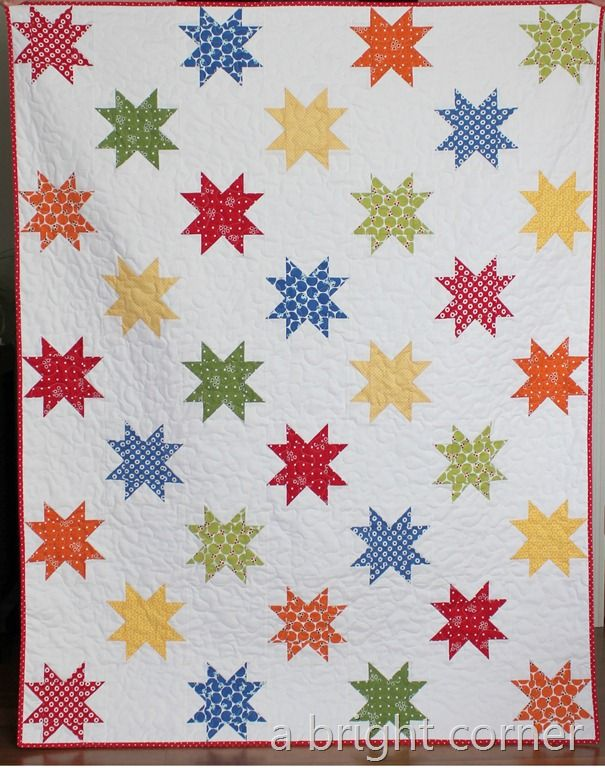 A Bright Corner blog Stars Abound 2 quilt