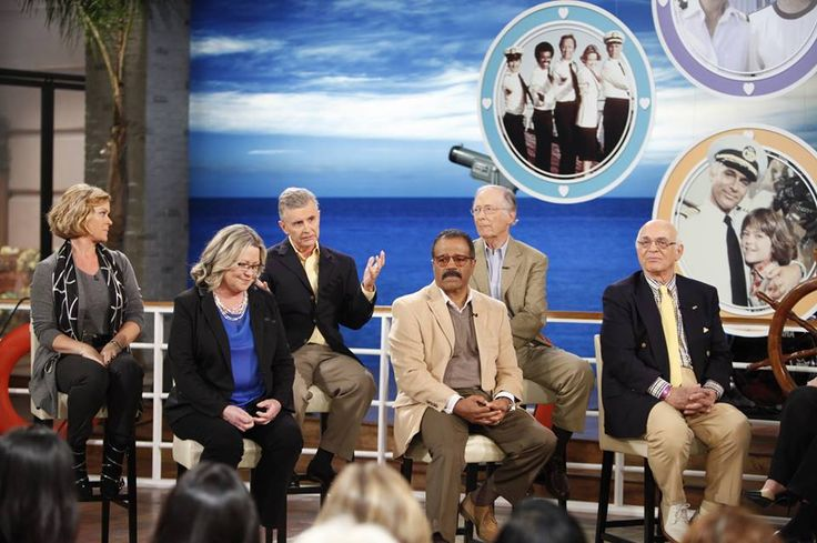 The Love Boat Cast Reunion On The Talk The Love Boat Pinterest Reunions Boats And The O Jays