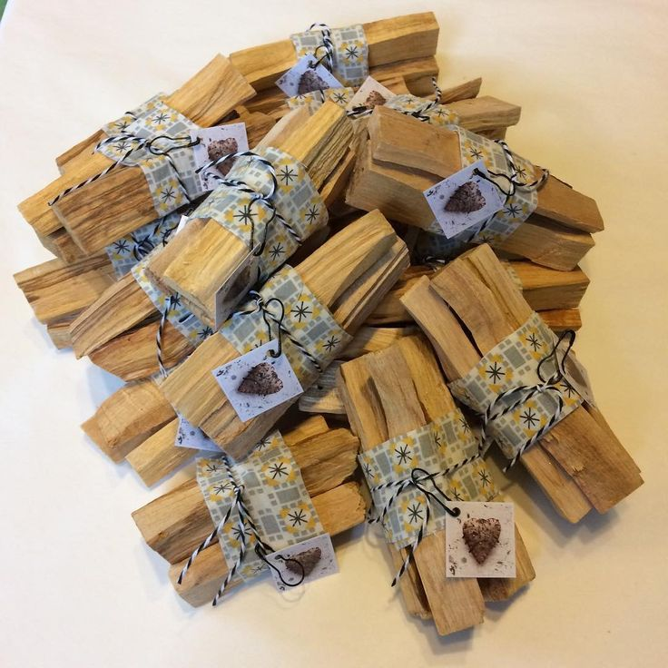 We both burn incense in our own homes and invite you to experience the pleasures of this ritual. One of our favorites, Palo Santo wood, available for purchase in our boutique opening this summer or by private appointment. www.telltaledress.com