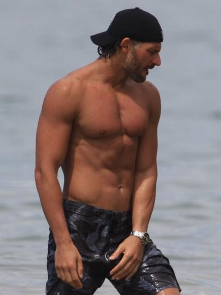 Joe Manganiello Shirtless Bathing Suit