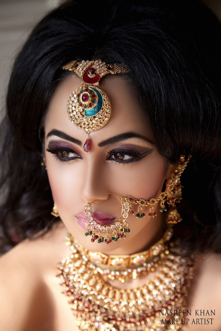 Jewels pinterest beautiful indian wedding jewellery and jewellery - Beautiful Naath Bridal Jewellery Www