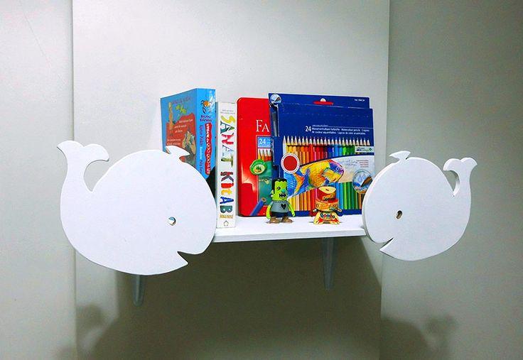 Bebek Odası Raf – Kitaplık ve Oyuncaklık