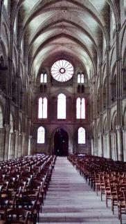 Basilique St. Remi Romanesque Western Entrance