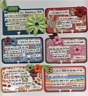 Rolodex scripture cards