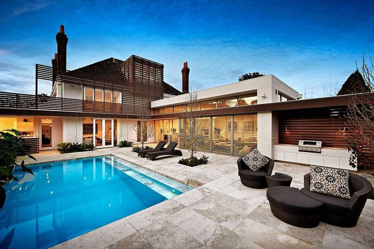 Kooyong House: Revitalized Modern Interior Meets Relaxing Family Retreat
