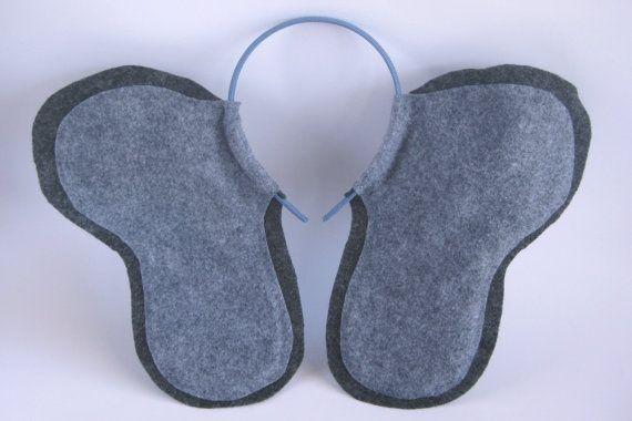Elefanten-Ohren-Stirnband von PlaytimeProps auf Etsy