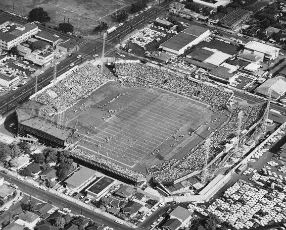 Old Honolulu Stadium, today this property is a community park
