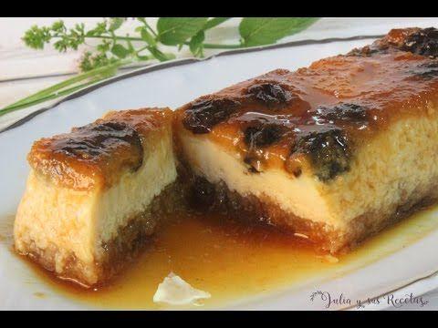 JULIA Y SUS RECETAS: Pastel de queso crema al microondas