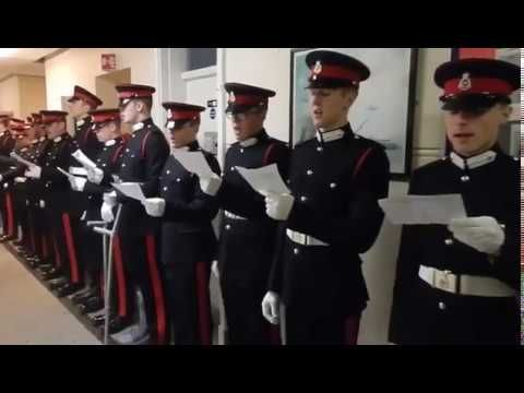 Pakistan National Anthem Sung by British Royal Army Officers | Life Skil...