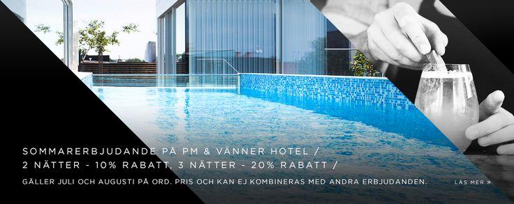 """PM & Vänner - Välkommen till PM & Vänner - ett hotell och en restauranggrupp i hjärtat av Småland. Vår filosofi är baserad på de tre hörnstenarna """"skog, äng och sjö"""". Genom denna vill vi med stolthet visa upp den rikedom vår region erbjuder."""