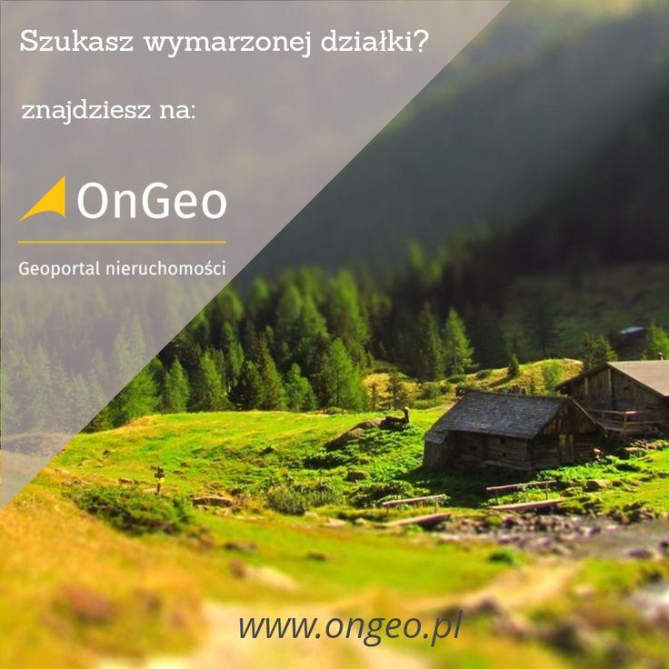#działki #nieruchomości #grunty na sprzedaż #OnGeo