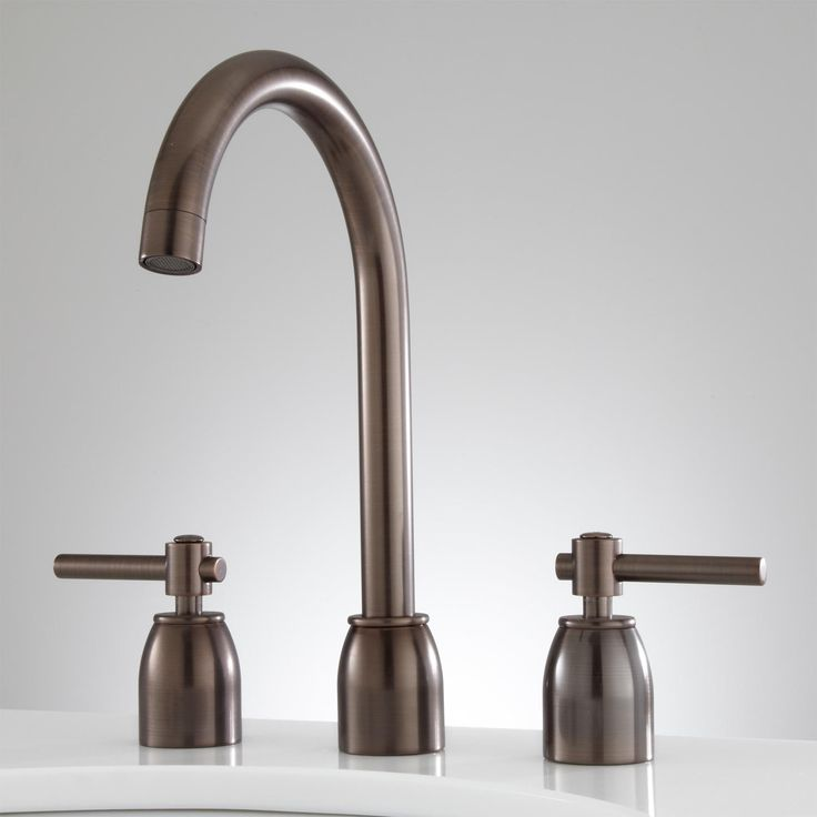 Cortland Widespread Bathroom Faucet - No Overflow - Oil Rubbed Bronze