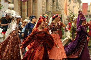 Fête médiévale - Cordes sur Ciel - Tarn -