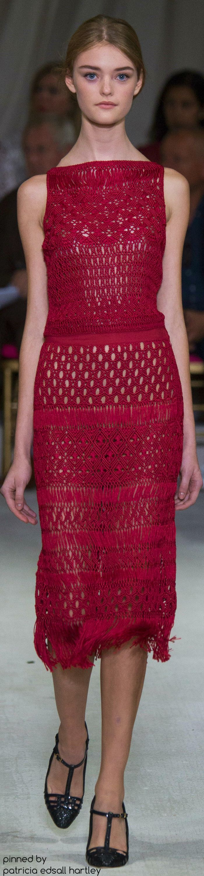 SPRING 2016 READY-TO-WEAR Oscar de la Renta
