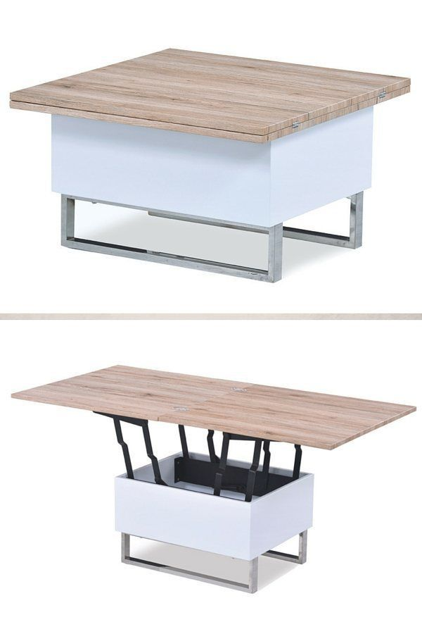 Table Salon Pliante Relevable Diy Table Furniture Table