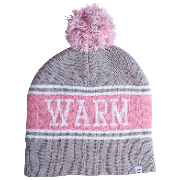 Kids winter fashion Warm Thoughts Beanie