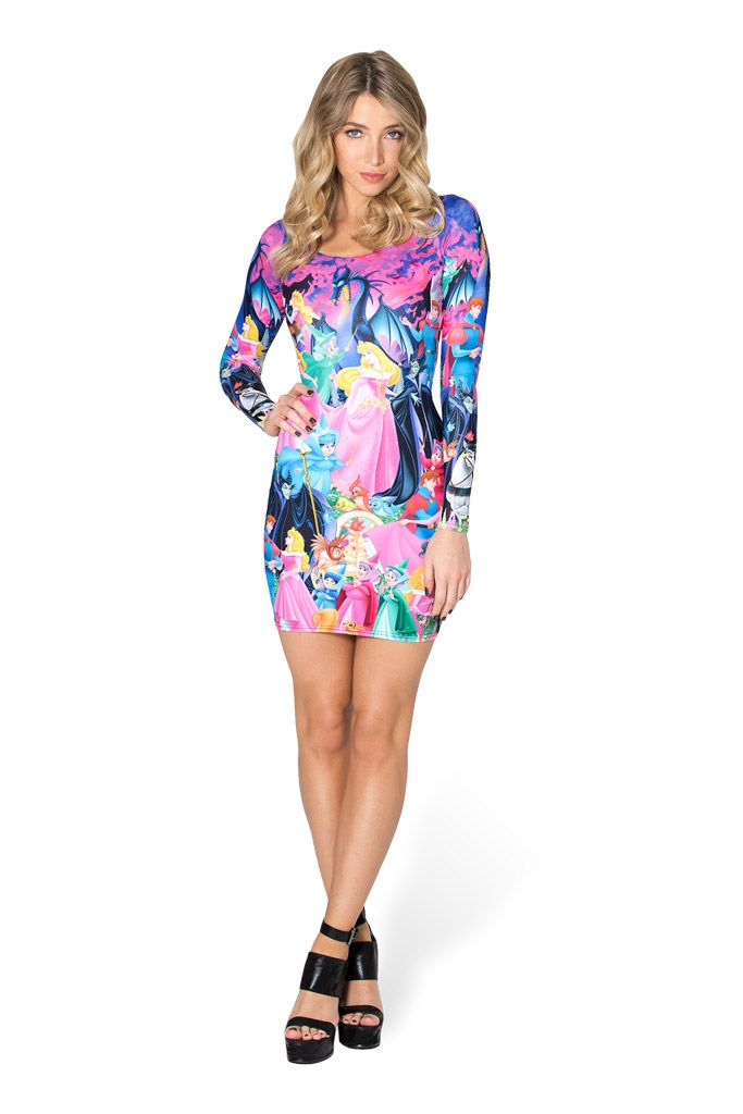 Sleeping Beauty Long Sleeve Dress by Black Milk Clothing $110AUD