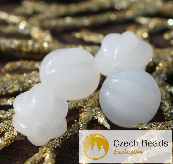 ✔ What's Hot Today: Opaque Milky White Melon Beads Czech Glass Melon Beads Glass Fruit Beads Melon Glass Beads Czech Melon Beads 10mm x 8mm 8pc https://czechbeadsexclusive.com/product/opaque-milky-white-melon-beads-czech-glass-melon-beads-glass-fruit-beads-melon-glass-beads-czech-melon-beads-10mm-x-8mm-8pc/?utm_source=PN&utm_medium=czechbeads&utm_campaign=SNAP #CzechBeadsExclusive #10Mm_Czech_Glass_Beads, #10Mm_Czech_Round_Beads, #10Mm_Fruit_Beads, #10Mm_Melon_Bead, #8_Mm_G