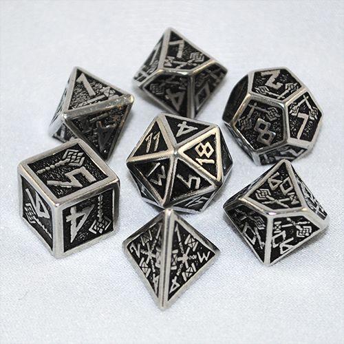 Metal Dwarven Dice Set - Cthulhu Dice