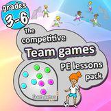 PE Team Games – 21 sport activities for grades 3-6