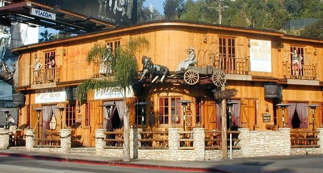 Saddle Ranch Chop House 8371 Sunset Blvd. West Hollywood, CA 90069