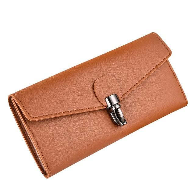 8dd322bdda1 Women's Vintage Style Leather Clutch Purse Wallet (5 colors) in 2019 ...