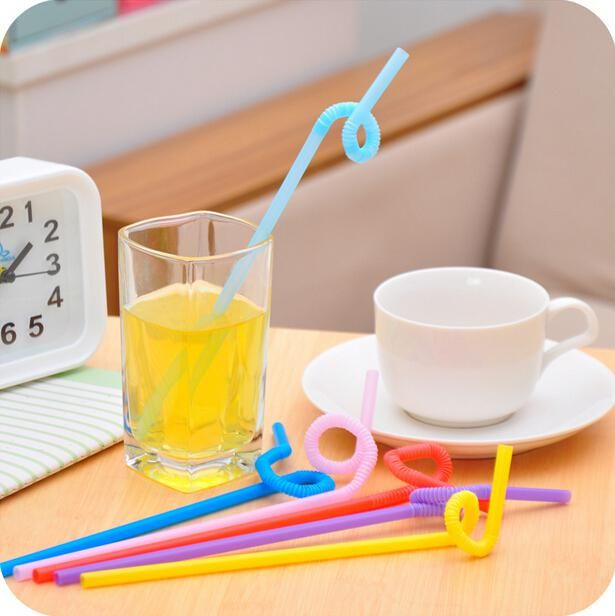 Multicolor Long Bendy Drinking Straws Drinking Straws Home Bar Party Cocktail Drink Straw Jg16 Metal Straws Drinking Narrow Drinking Straws From Chengzi520, $3.15| Dhgate.Com
