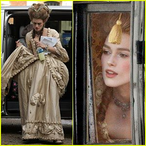 Keira as The Duchess