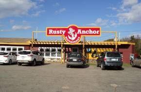 Rusty Anchor Restaurant, Pleasant Bay, Cabot Trail, Nova Scotia