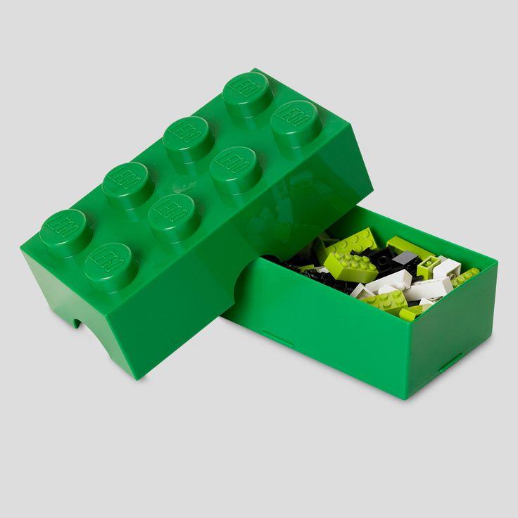 LEGO Lunch, Lunchbox, Dark Green, Design by Room Copenhagen