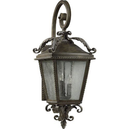 Quorum International 7910-3-43 Rochelle 3 Light Outdoor Wall Sconce in Etruscan Sienna 7910-3-43 by Quorum. $272.00. Requires 3 60w Candelabra Bulbs (Not Included) UL listed for Wet locationsBulb Type: Incandescent Collection: Rochelle Extension: 13-1 2 Finish: Etruscan Sienna Height: 30 Light Direction: Ambient Lighting Number of Lights: 3 Suggested Room Fit: Outdoor Wattage: 180 Width: 11
