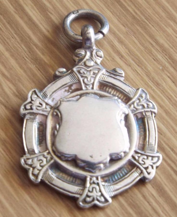 LYONS W.E. CUP - VINTAGE 1939 STERLING SILVER FOB MEDAL