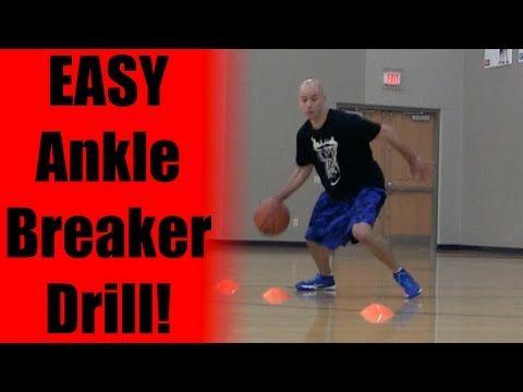 Easy ANKLE BREAKER Drill - Basketball Drills: Best Basketball Moves | Youth Basketball Drills - YouTube