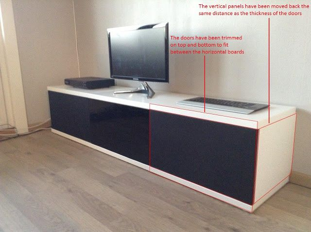 Tv board ikea holz  12 best TV/Livingroom images on Pinterest | Ikea hackers ...