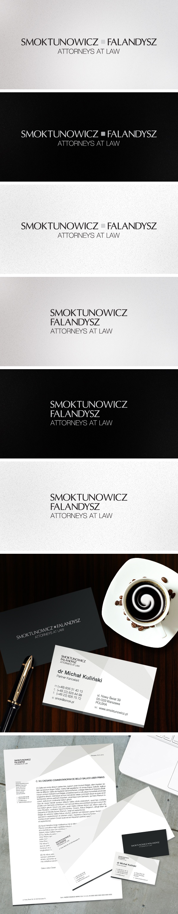 Smoktunowicz Attorneys At Law Branding