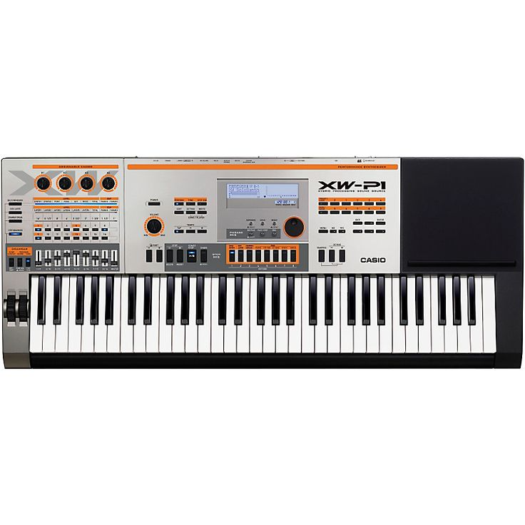 casio xp-w1 Performance synthesizer
