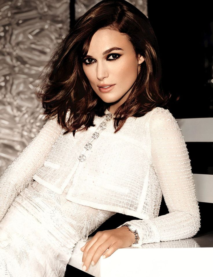 Keira Knightley At Promoshoot For Chanel Coco Mademoiselle Spring/Summer 2014