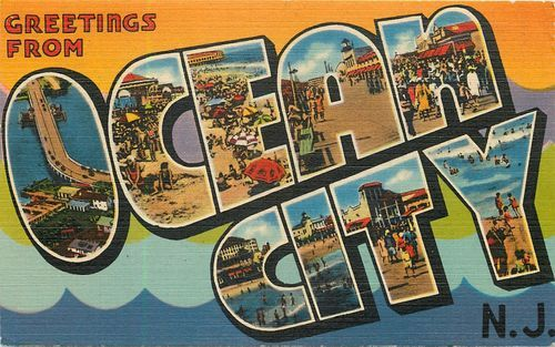 Ocean City New Jersey  1947