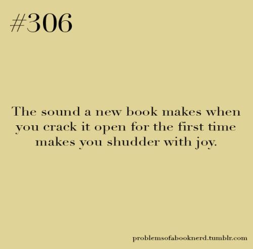 Ah, Old Book Smell And New Book Sounds