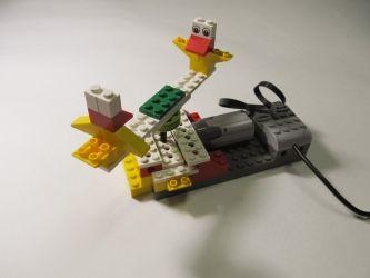 Карусель с птичками - Lego Wedo