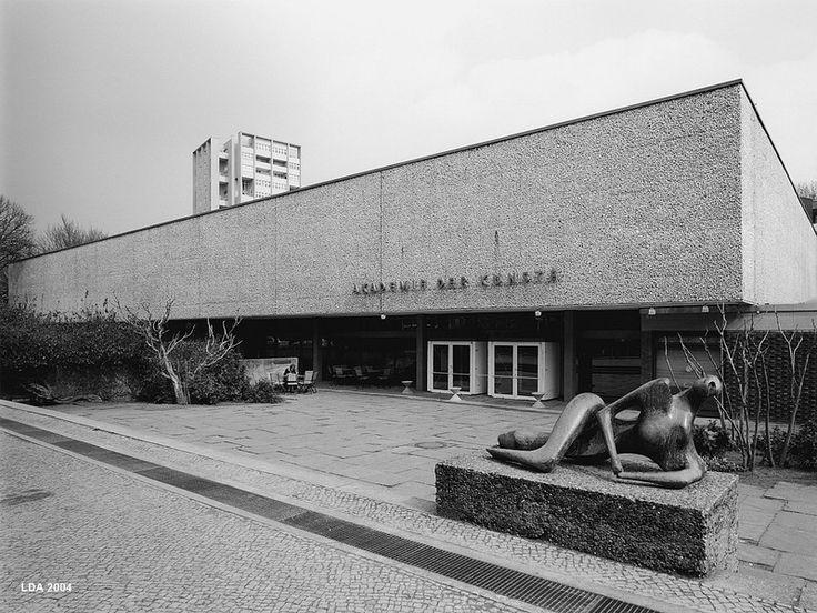 Akademie der Künste (1959-60) in Berlin, Germany, by Werner Düttmann
