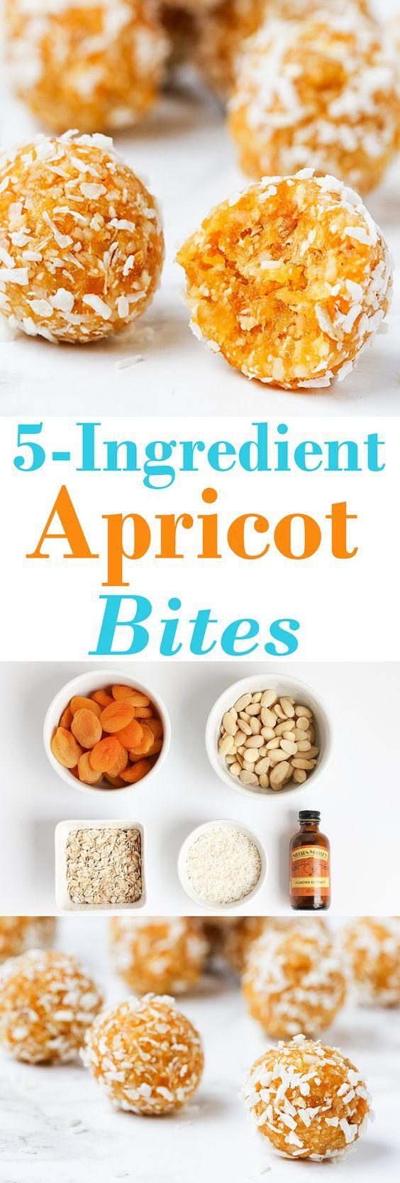 Gluten-Free 5-Ingredient Apricot Bites Recipe