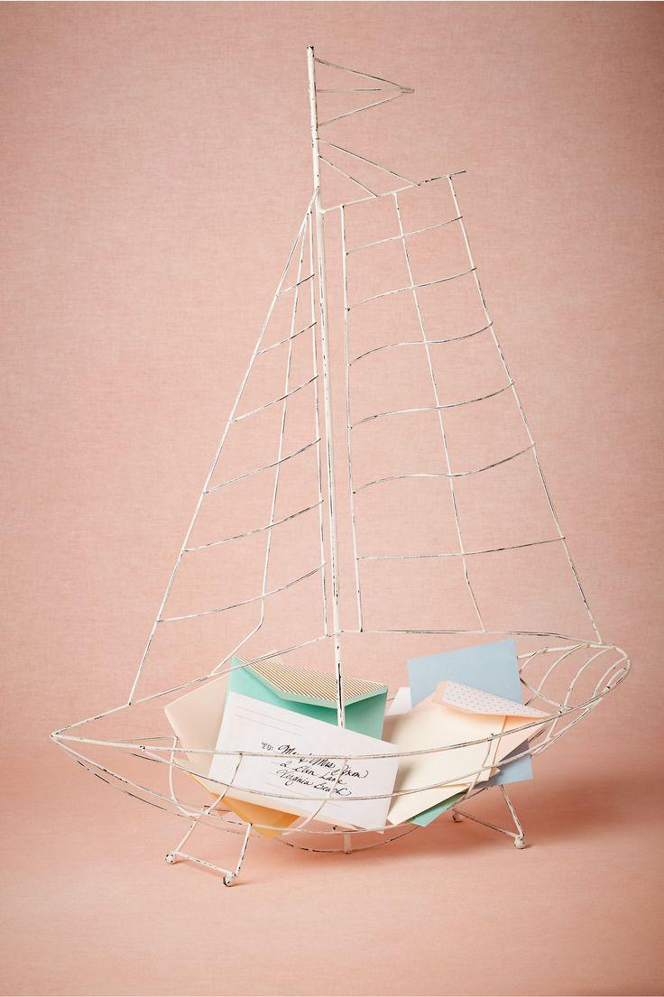 Sailboat Envelope Holder from BHLDN
