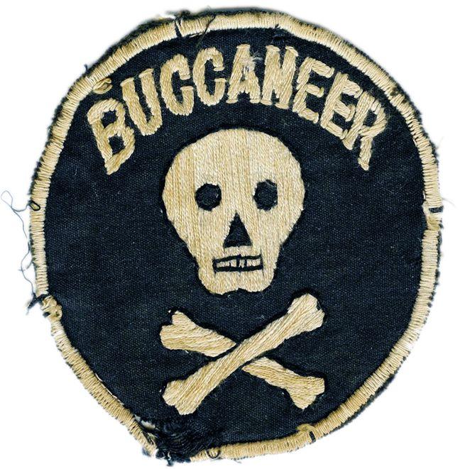 buccaneer patch vintage