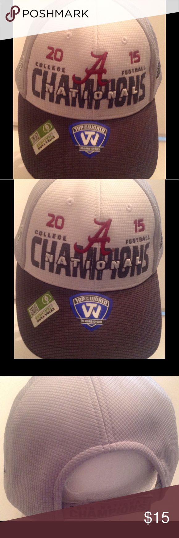 Men's Roll Tide Alabama  Championship Hat NWT Alabama Crimson college football championship hat 2015. Game played in Arizona. Accessories Hats