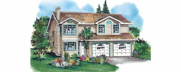 Eplans Colonial House Plan - Cozy Three Bedroom Home - 1089 Square Feet and 3 Bedrooms from Eplans - House Plan Code HWEPL57605