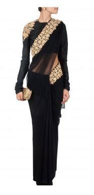 Gorgeous http://www.RidhiMehra.com/ #Couture #Saree ~