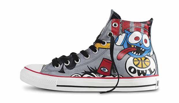 #Converse Gorillaz #zapatillas rememorando los inicios del grupo.